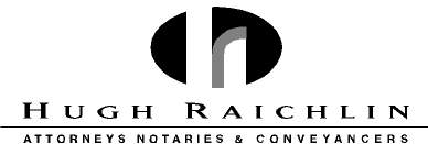 Hugh Raichlin Attorneys Company Logo